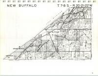 Map Image 001, Berrien County 1964